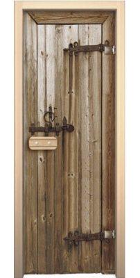 Дверной блок для сауны  ДЕРЕВО