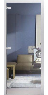 Межкомнатная дверь Прозрачное стекло