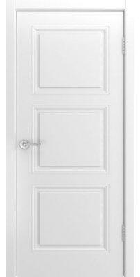 Межкомнатная дверь BELINI-333 белая ПГ