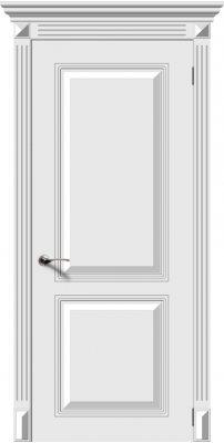 Межкомнатная дверь БЛЮЗ белый ПГ