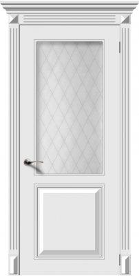 Межкомнатная дверь БЛЮЗ белый ПО