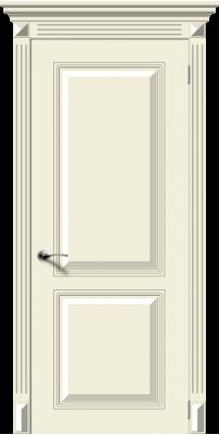 Межкомнатная дверь БЛЮЗ крем ПГ
