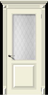 Межкомнатная дверь БЛЮЗ крем ПО