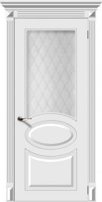 Межкомнатная дверь ДЖАЗ белый ПО