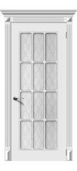 Межкомнатная дверь НОКТЮРН белый ПО2