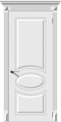 Межкомнатная дверь ДЖАЗ белый ПГ