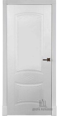 Межкомнатная дверь МАРИАННА эмаль белая ПГ