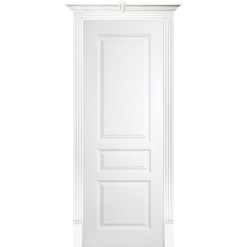 Межкомнатная дверь ТУРИН эмаль белая ПГ