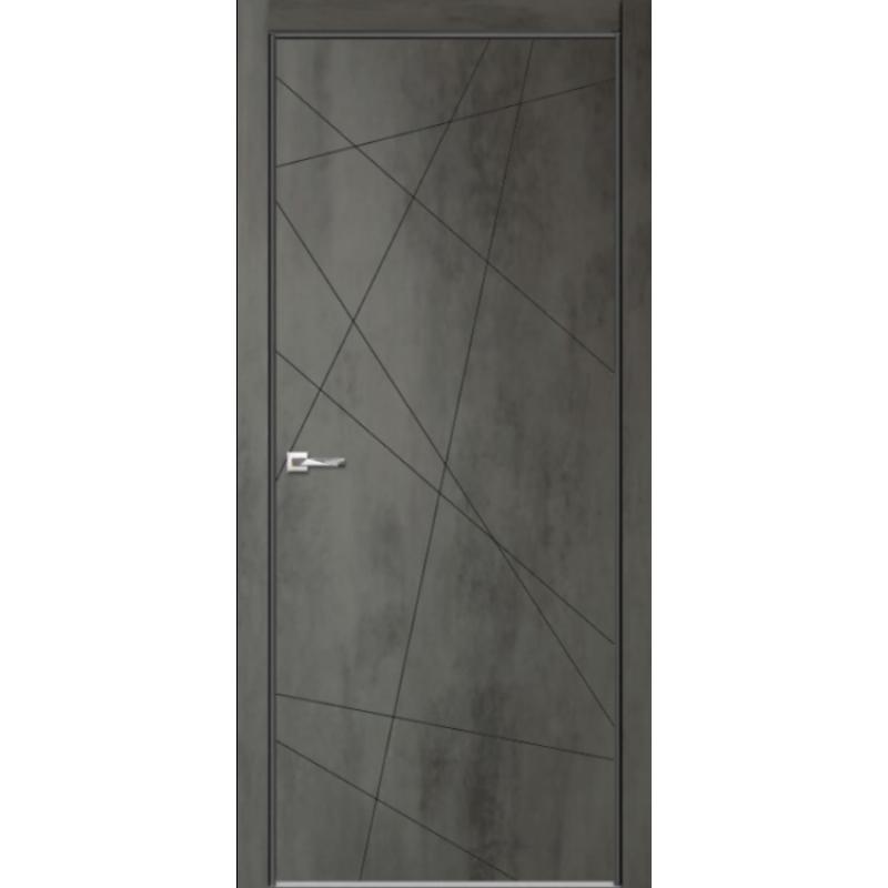 Межкомнатная дверь СЕВИЛЬЯ 26 бетон темный