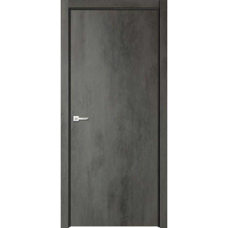 Межкомнатная дверь СЕВИЛЬЯ 32 бетон темный