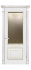 Межкомнатная дверь ФЕЛИСА патина золото ПО