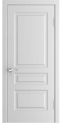 Межкомнатная дверь L-2 белая ПГ