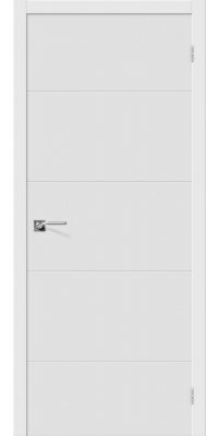 Межкомнатная дверь из ПВХ Граффити-2 белый