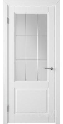 Межкомнатная дверь ДОРРЕН белая эмаль ПO