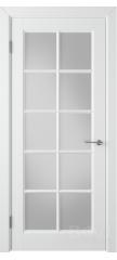 Межкомнатная дверь ГЛАНТА белая эмаль ПO