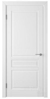 Межкомнатная дверь СТОКГОЛЬМ белая эмаль ПГ
