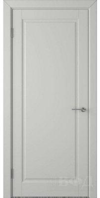 Межкомнатная дверь ГЛАНТА светло-серая эмаль ПГ