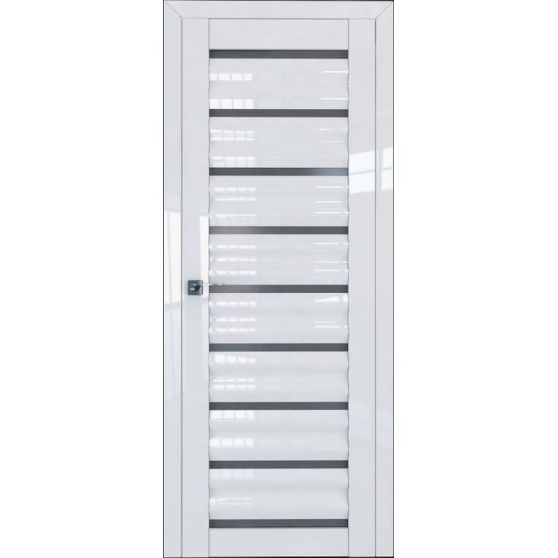 Межкомнатная дверь L 76 белый люкс