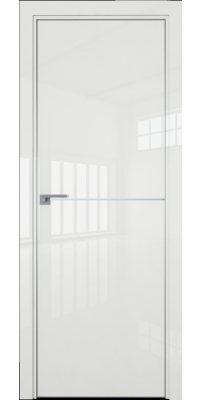 Межкомнатная дверь 12LK белый люкс, кромка матовая