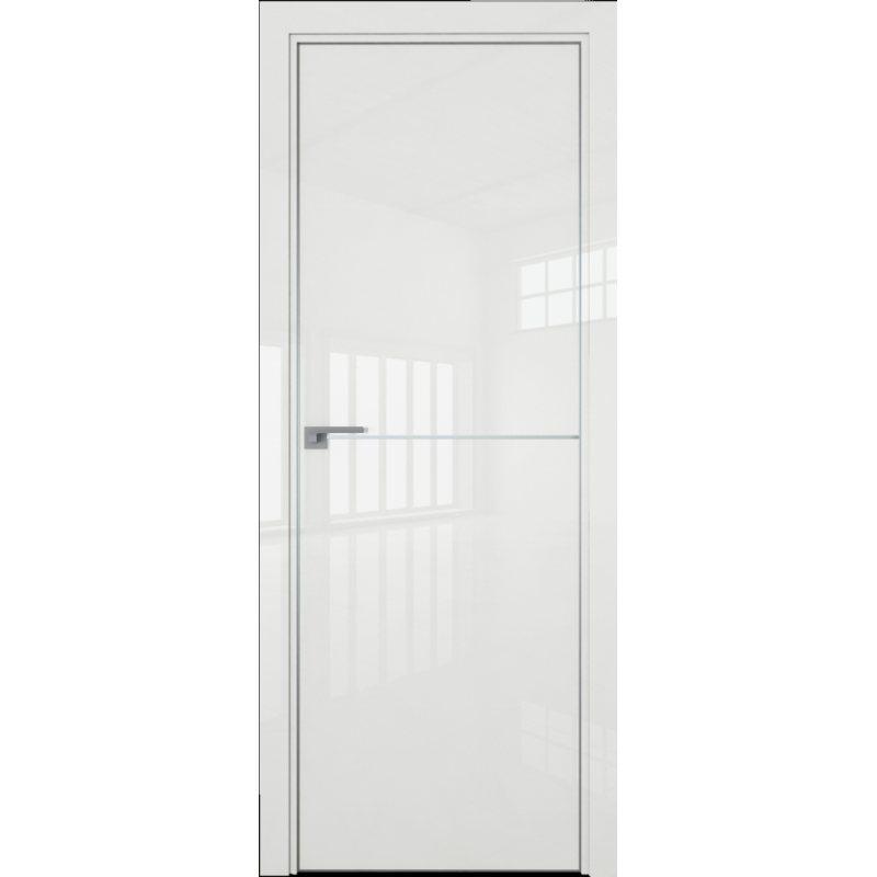 Межкомнатная дверь 12LK белый люкс