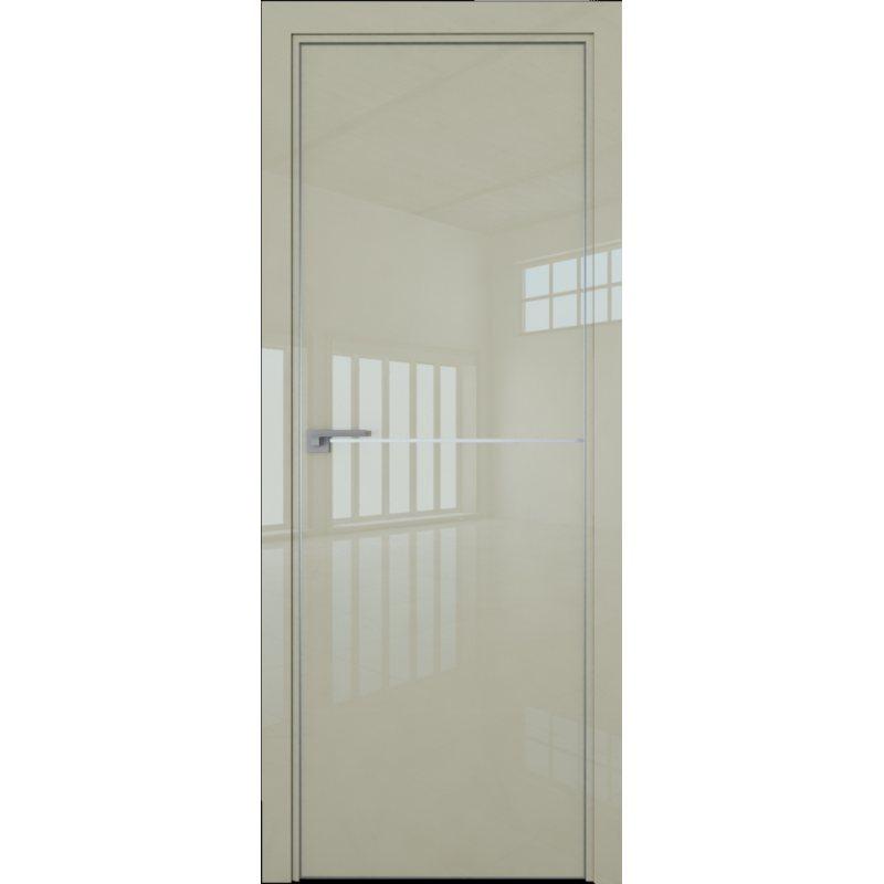 Межкомнатная дверь 12LK галька люкс, кромка матовая