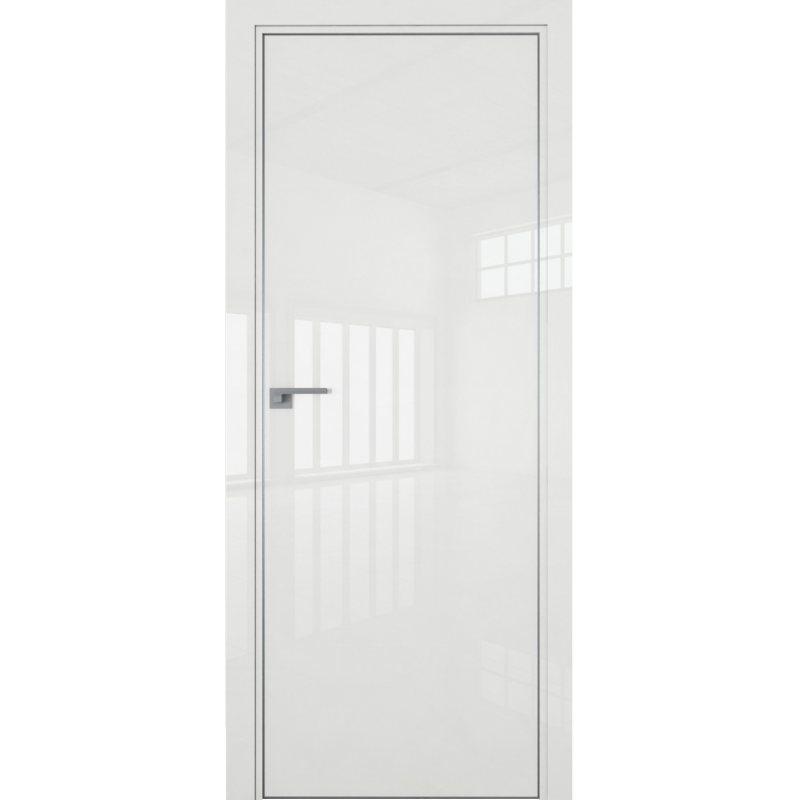 Межкомнатная дверь 1LK белый люкс, кромка ABS