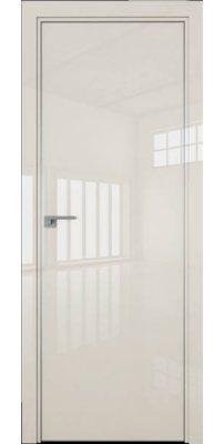 Межкомнатная дверь 1LK магнолия люкс, кромка ABS