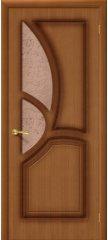 Межкомнатная дверь ГРЕЦИЯ орех ПО