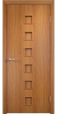 Межкомнатная дверь КОМФОРТ миланский орех ПГ