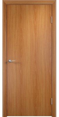 Межкомнатная дверь Гладкая с четвертью миланский орех