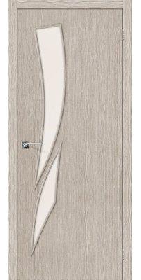 Межкомнатная дверь Мастер-10 3D cappuccino/magic fog