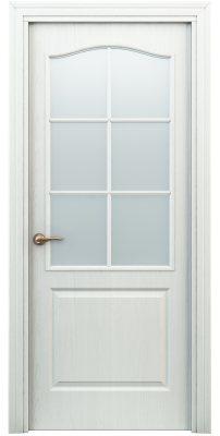 Межкомнатная дверь КЛАССИК белая ПО