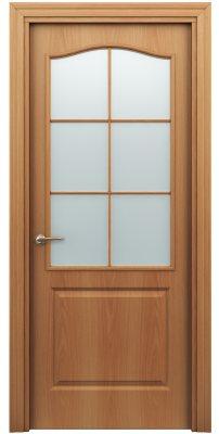 Межкомнатная дверь КЛАССИК миланский орех ПО