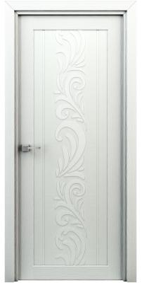 Межкомнатная дверь ВЕСНА жасмин белый ПГ
