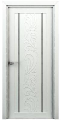 Межкомнатная дверь ВЕСНА жасмин белый ПО