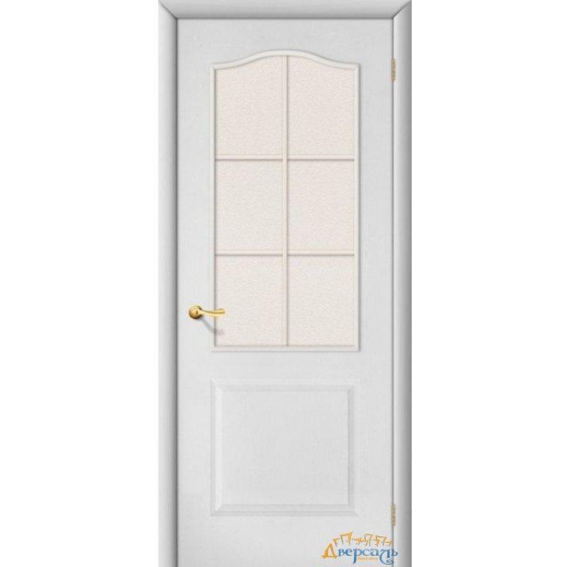 Межкомнатная дверь ПАЛИТРА белая ПО