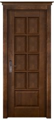 Межкомнатная дверь ЛОНДОН 1 античный орех ПГ