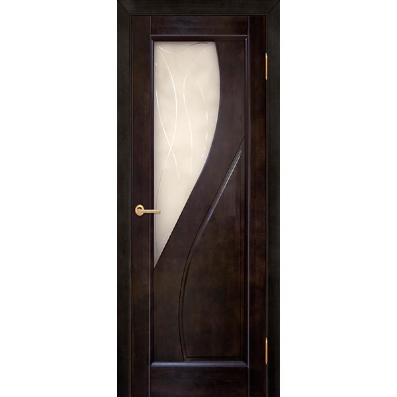 Межкомнатная дверь Дива венге ПО