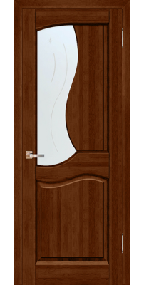 Межкомнатная дверь Верона бренди ПО