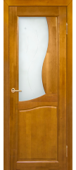 Межкомнатная дверь Верона медовый орех ПО