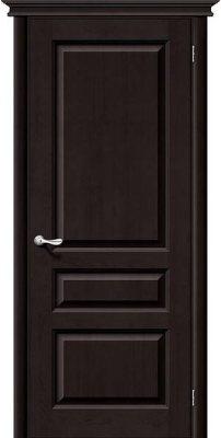 Межкомнатная дверь М5 темный лак ПГ