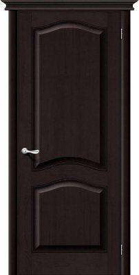 Межкомнатная дверь М7 темный лак ПГ