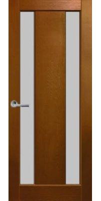 Межкомнатная дверь МИЛАН светлый орех ПО