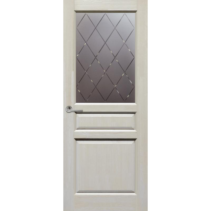Межкомнатная дверь ВЕНЕЦИЯ слоновая кость ПО структурированное