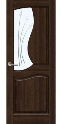 Межкомнатная дверь ВЕРОНА тёмный орех ПО