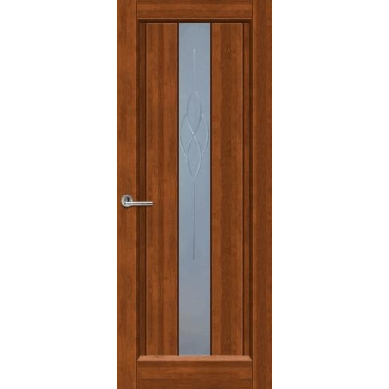Межкомнатная дверь ВЕРСАЛЬ светлый орех ПО