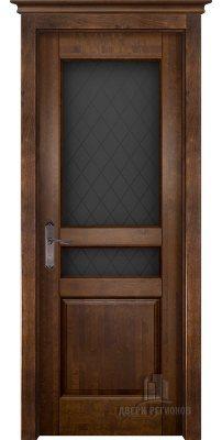 Межкомнатная дверь ГАРМОНИЯ античный орех ПО