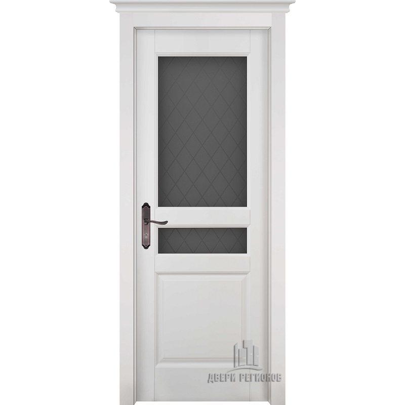Межкомнатная дверь ГАРМОНИЯ эмаль белая ПО