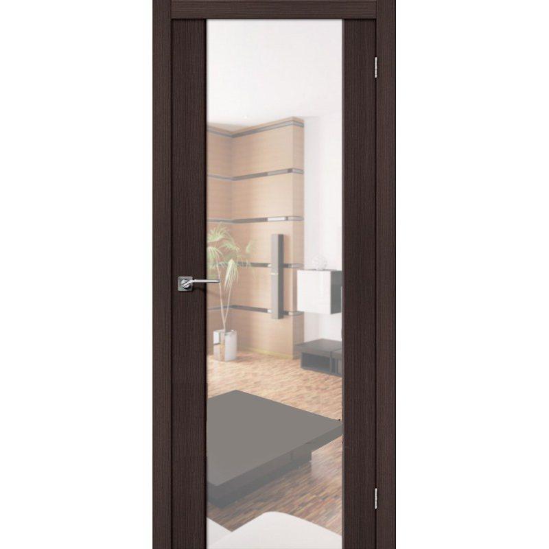 Межкомнатные двери - Межкомнатная дверь SOFT S-13 Reflex wenge veralinga