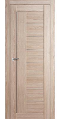 Межкомнатная дверь 17X капуччино мелинга